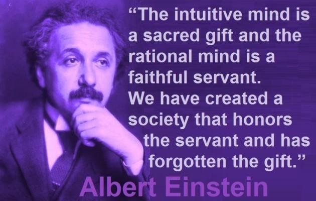 Einstein-quote-intuition