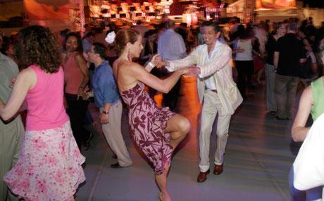 Midsummer Night Swing Harbor Latin Big Band Photographer: Brian Stanton Date Photographed: June 30, 2005