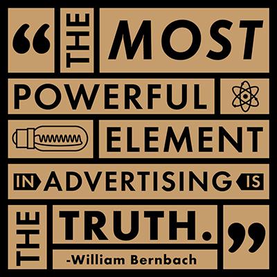 Bernbach+Quote