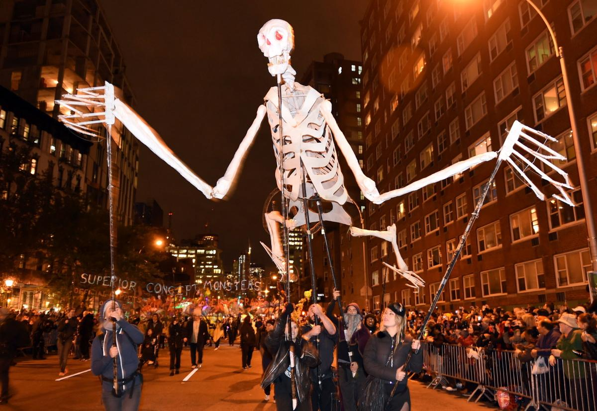 New York City Halloween Parade.13 Fun Freaky Facts About Halloween